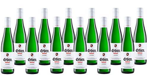 ERBEN Kabinett Feinherb (12 X 0.25 L) – Weißwein aus Deutschland – Prädikatswein Rheinhessen