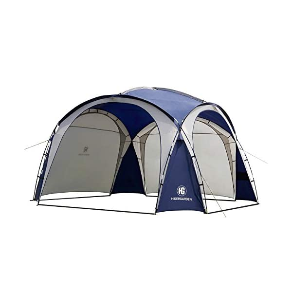 HG Easy Beach Tent Camping Sun Shelter Backyard Canopy, Easy up Cabana, Portable...