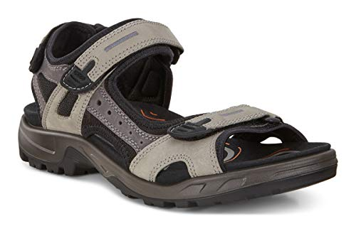 Price comparison product image ECCO Men's Yucatan Sandal,  Wild Dove / Dark Shadow,  6 M US