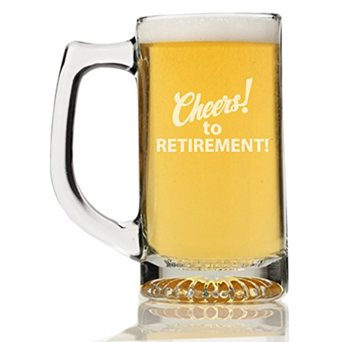 Cheers To Retirement Beer Mug