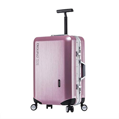 Check Out This Lightweight Aluminum Frame Business Travel Trolley Wheeled Rolling Suitcase Luggage,T...