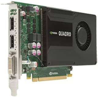 Dell nVidia Quadro K2000 Kepler - Tarjeta gráfica (2 GB, GDDR5, PCIe, 384 núcleos CUDA, 1 salida DVI-I y 2 salidas DisplayPort, gráficos profesionales, sustituye a modelo Dell 0JHRJ, envío gratuito)