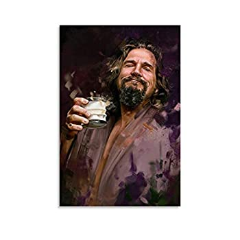 The Big Lebowski Abstract Creative Character Home Poster Canvas Art Poster and Wall Art Picture Print Modern Family Bedroom Decor Posters 24x36inch 60x90cm