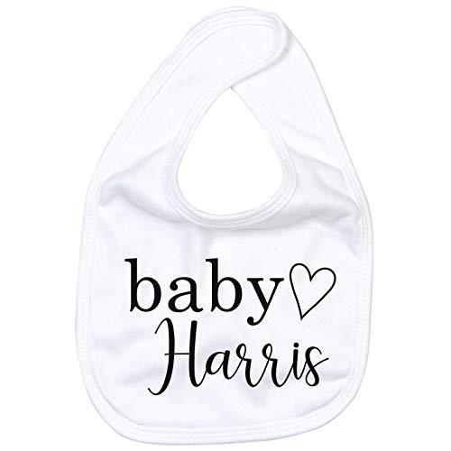 Personalised Baby Name Bib