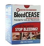 BLEEDCEASE Stop Bleeding STERILE 25 Count 2 Pack