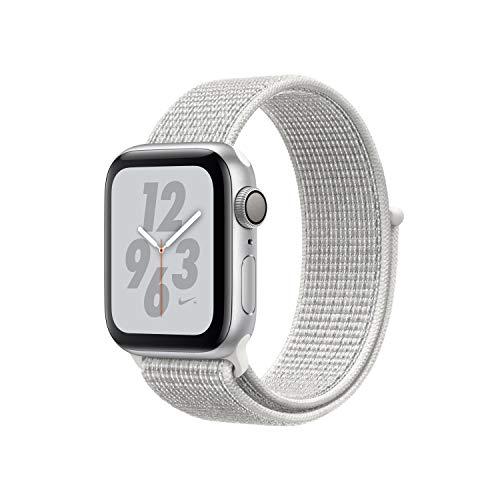 Apple Watch Series 4 Nike+ GPS 40mm silver Sport Loop summit white