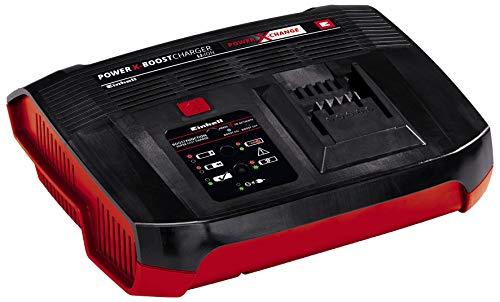 Einhell Original Ladegerät Power X-Boostcharger 6A Power X-Change (Li-Ion, 18V, halbierte Ladezeiten, permanente Akkuüberwachung und intelligentes Lademanagement, 6-fache Zustands-LED-Anzeige)