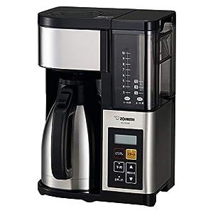 """象印 コーヒーメーカー 大容量 ステンレスブラック EC-YS100-XB"""""""