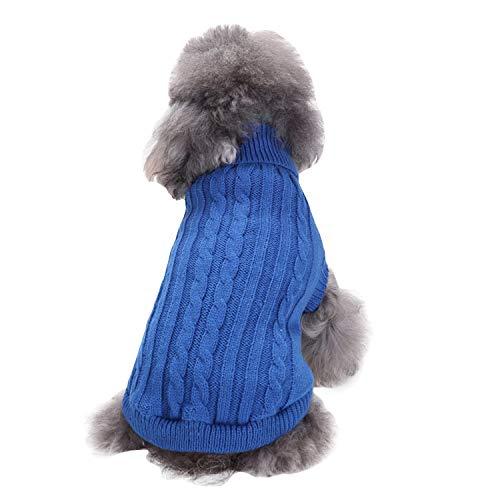 Boodtag Hundepulli mit Kapuzen Hunde Warm Hoodies kleine mittlere Hunde und Grosse Hunde Mantel Kleidung (M (Neck30cm/11.8