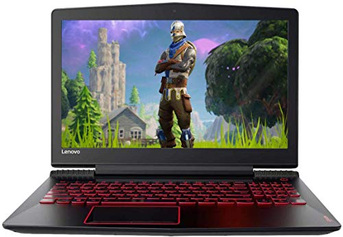 Lenovo Legion 15.6' FHD LED Backlit Gaming Laptop | Intel Core i7-7700HQ Quad-Core | 16GB DDR4 RAM | 512GB SSD | NVIDIA GeForce GTX 1060 6GB DDR5 | Red Backlit Keyboard | MiniDP | Windows 10 (Renewed)