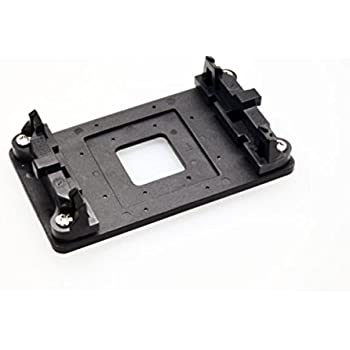 uxcell a13121900ux0265 a13121900ux0265 AMD Plastic CPU Fan Stand Bracket Base Black with Four Screws for AM2 AM3 Socket Plastic
