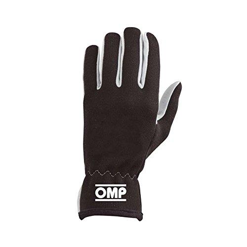 Omp OMPIB/702/N/L Rally Handschuhe, Schwarz, Größe L