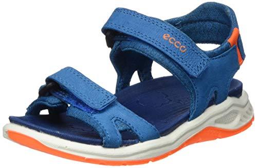Ecco Jungen X-TRINSICK Peeptoe Sandalen, Blau (Olympian Blue 2335), 24 EU