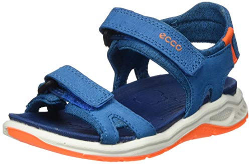 Ecco Jungen X-TRINSICK Peeptoe Sandalen, Blau (Olympian Blue 2335), 29 EU