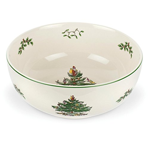 Spode Christmas Tree Serving Bowl, 9-Inch