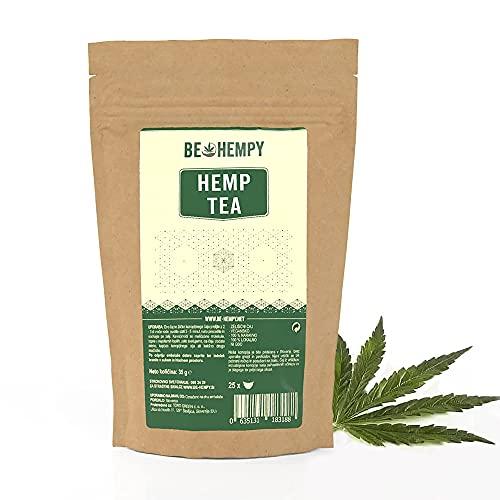 Hennep thee Bio 100% – Duurzame Producten, Ontspanning (Bladthee) – Hemp Tea