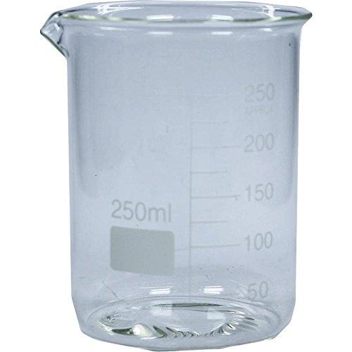 Preisvergleich Produktbild BECHERGLAS hitzebeständig 250 ml