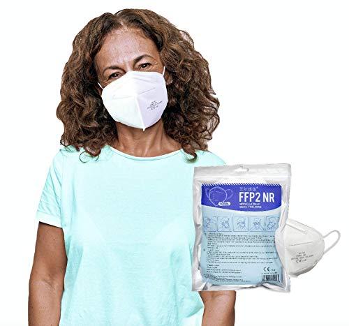 FEELBIRD 10x FFP2 Masken CE 2198 zertifiziert I DEKRA geprüft zusätzlich I 5-Lagen-Mundschutzmaske