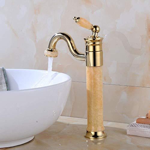 LILICEN CY Cuarto de baño de latón Grifo del Fregadero de Mezclador del Lavabo Grifo Antiguo Caliente y Agua fría del Lavabo Grifo Grifo de baño Bar