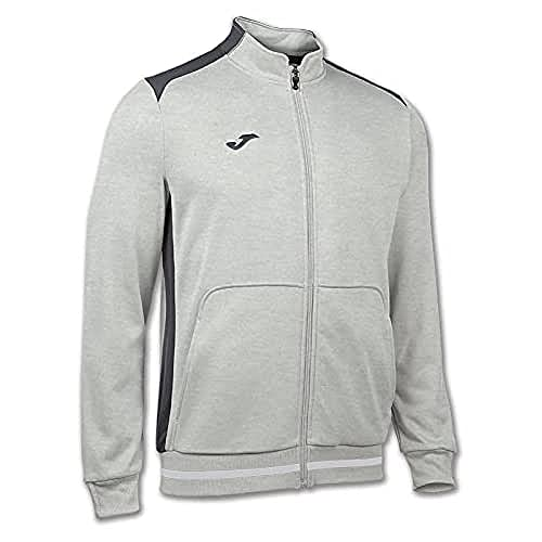 Joma Campus Sweat-shirt Gris chiné clair Taille S