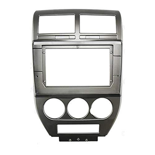 Danghe 10.1 Pulgadas Audio Audio Fasxia Frame Fascia, Navegación GPS Panel De Fascia Ajuste para Jeep Compass 2007-2009 (Color Name : As Shown)