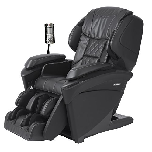 Panasonic MAJ7 Real Pro Ultra Premium 3d Luxury Heated Full Body Massage Recliner Chair (Black)