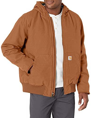 Carhartt Duck Active Jacket Chaqueta, Brown, M para Hombre