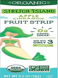 Stretch Island Cinnamon Apple Company Organic Fruit Strips, 0.49 Ounce (Pack of 120)