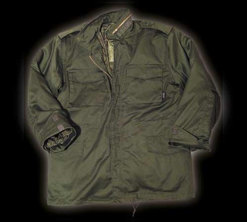 M65 veste ausknöpfbarem armée américaine avec doublure vert olive m