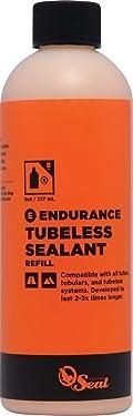 Orange Seal Endurance Formula Bicycle Tire Sealant for Road, Mountain Bike, CX, BMX, and Tri Bikes
