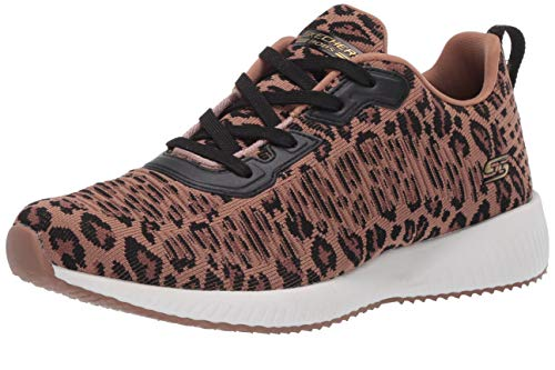 Skechers Bobs Squad-Leopard Zapatillas para mujer