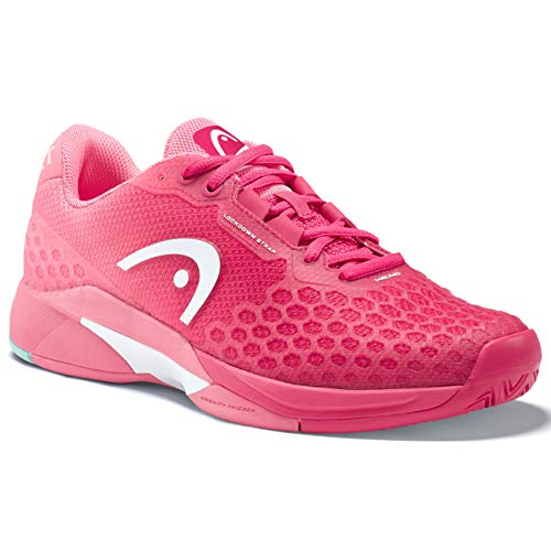 HEAD Women's Revolt Pro 3.0 Tennis Shoe (8.5) Magenta/Pink