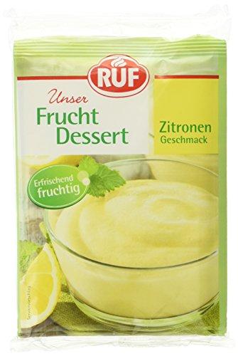 Ruf Frucht-Dessert Zitrone Erfrischungsspeise fruchtig-frisch, 16er Pack (16 x 3 x 44g)