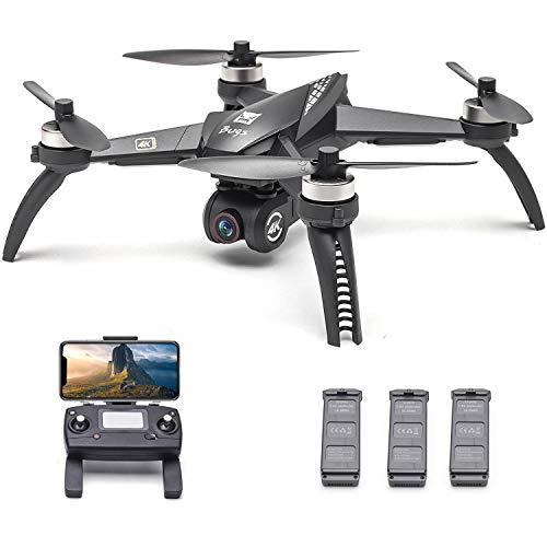 Goolsky Bugs 5W B5W RC Drohne mit Kamera 4K Drohne 5G WiFi Brushless RC Quadrocopter GPS Track Flug Point of Interest Geste Foto Video mit 3 Batterie