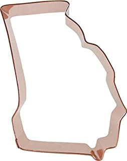 CopperGifts: Georgia State Shape Cookie Cutter