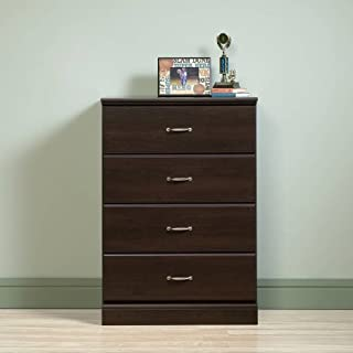 sauder parklane collection 4 drawer chest cinnamon cherry