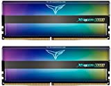 TEAMGROUP T-Force Xtreem ARGB 4000MHz CL18 16GB Kit (2x8GB) PC4-32000 (Addressable RGB) Dual Channel DDR4 SDRAM Desktop Gaming Memory Module Ram 1.35V Full Mirror ARGB - TF10D416G4000HC18JDC01