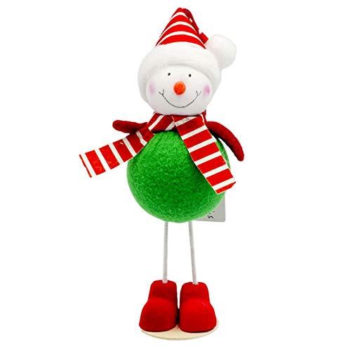 Zantec Natale Decorazioni,Accessori casa,Persone Nesting Peg Dolls Legno incompiuto Fai da Te Decor Wedding Cake Topper Home Ornamento Giocattoli per Bambini Artigianato 10PCS Set