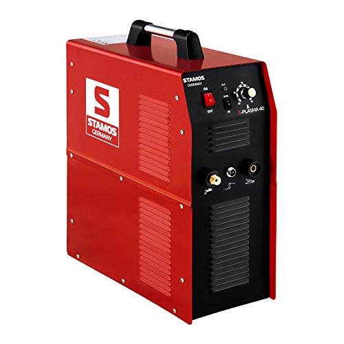 Stamos Germany S-PLASMA 40 Plasmaschneider 20-40 A 10 mm Schnitt Kompressor V-MOSFET Druckluftkompressor Plasma Cutter Plasmacutter Plasmaschneidegerät - 3