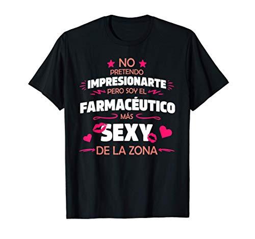 Hombre Frase Divertida y Original Para Farmacéutico Con Humor Camiseta