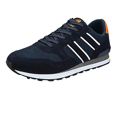 Lucky H-running shoes men - Destalonada Hombre, Color Azul, Talla 39 EU