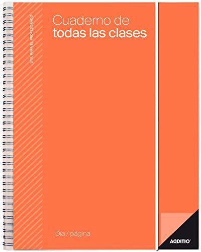 Additio DP-P232 - Cuaderno de Todas las Clases, 17 x 24 cm, colores surtidos, 1 unidad