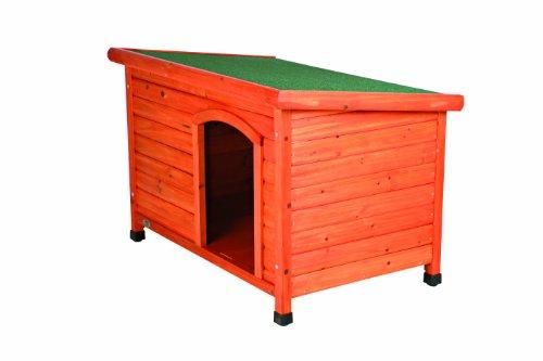 Trixie 39551 natura Flachdach-Hundehütte, S-M: 85 × 58 × 60 cm - 6
