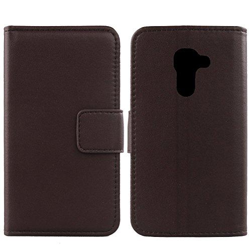 Gukas Design Echt Leder Tasche Für Alcatel Idol 4S 6070K 5.5