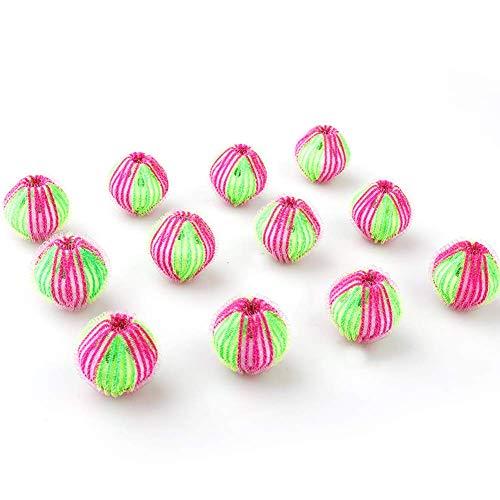 Seika - Confezione da 12 sfere per la rimozione dei peli di animali domestici, sfere riutilizzabili per rimuovere i peli di cani e gatti sui vestiti in lavatrice