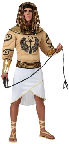 Atosa - 15325 - Costume - Déguisement D'égyptien Muscle - Adulte - Taille 3