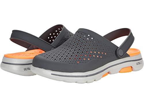 Skechers Go Walk 5-stonished - Zoccoli da Uomo, (Arancione Carbone.), 12 M US