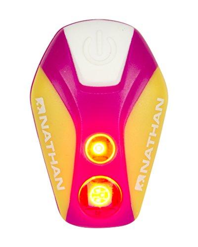 Nathan Unisexe Pulsar Strobe LED, Floro Fuchsia, Taille Unique