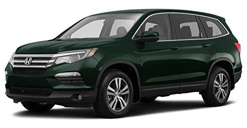 2017 Honda Pilot EX-L, 2-Wheel Drive w/Honda Sensing, Black Forest Pearl