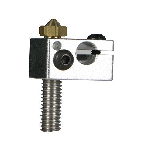 JGAURORA 3D printer mondstuk 0,4 mm hoogwaardig instellen voor A5S